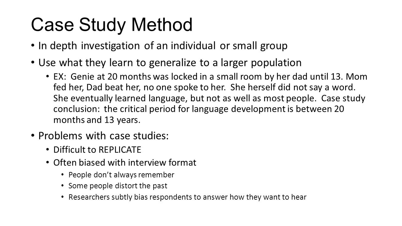 Case Study Method  Why   how the best business schools use it Case study   Wikipedia  the free encyclopedia When would you use case study  method