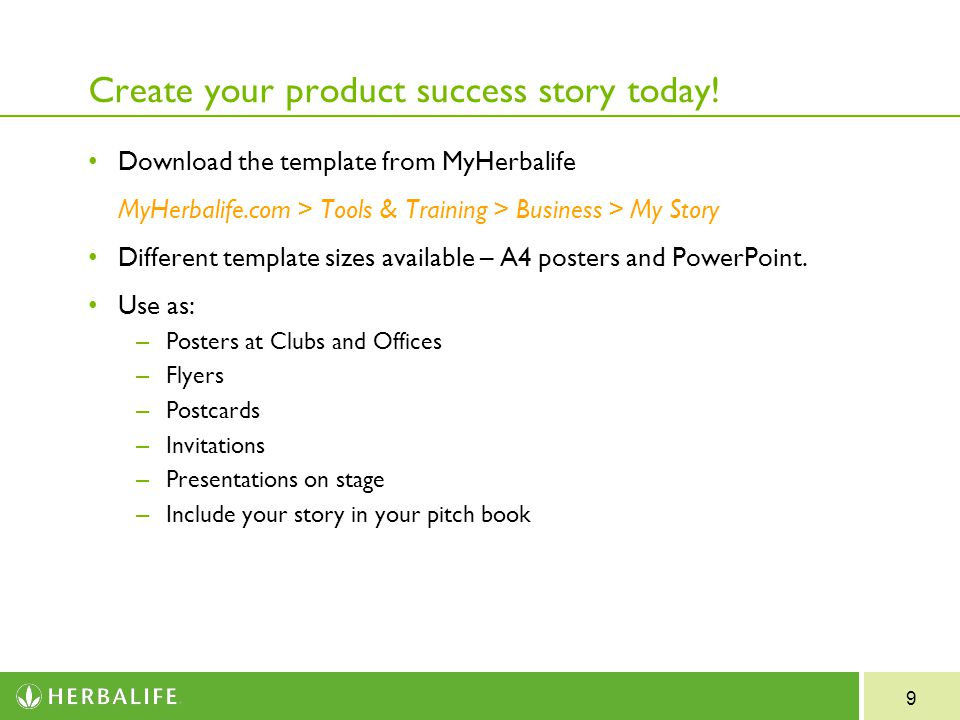 Example Success Stories - PowerPoint PPT Presentation