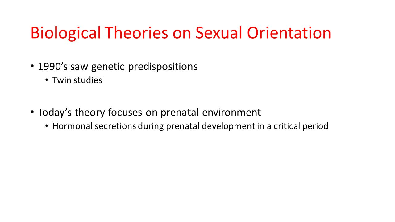 Explain the perspectives of sexual orientation