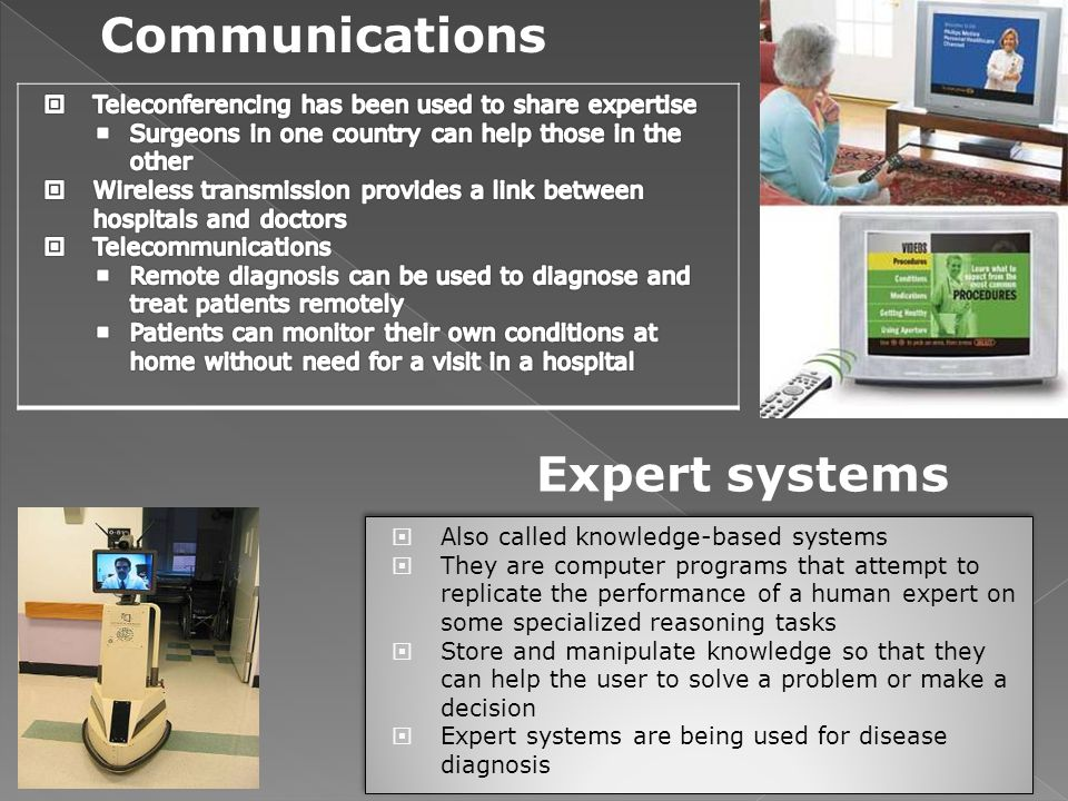 Communications Expert systems