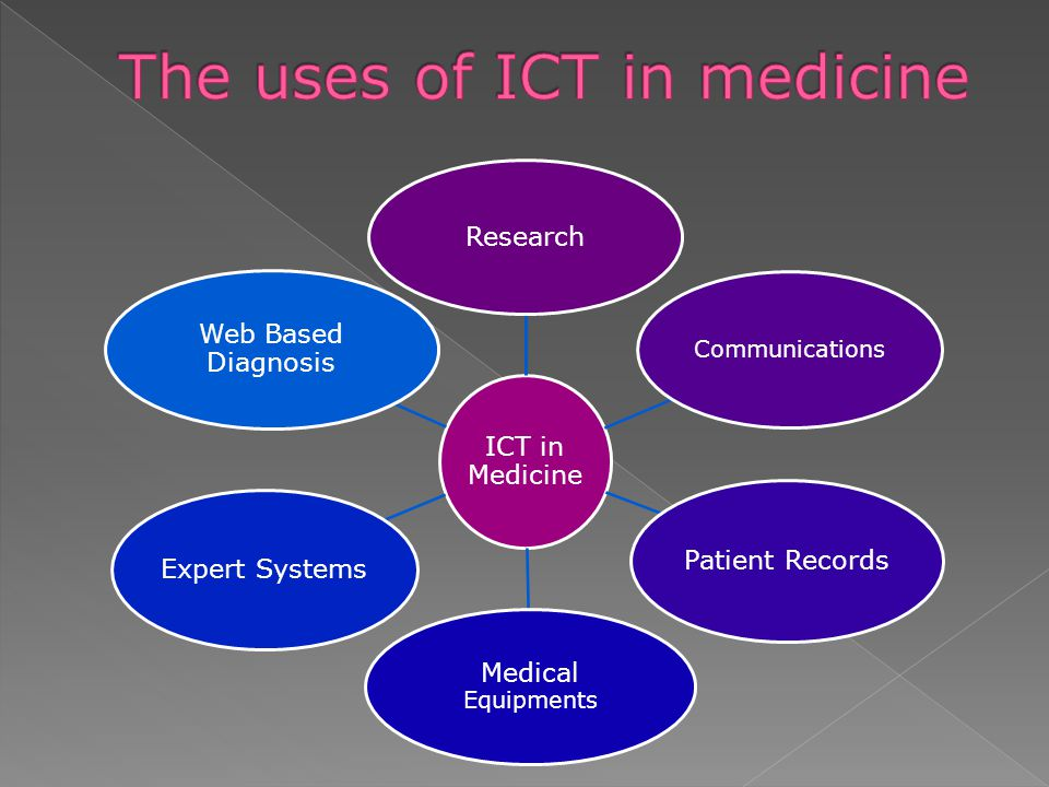 The uses of ICT in medicine