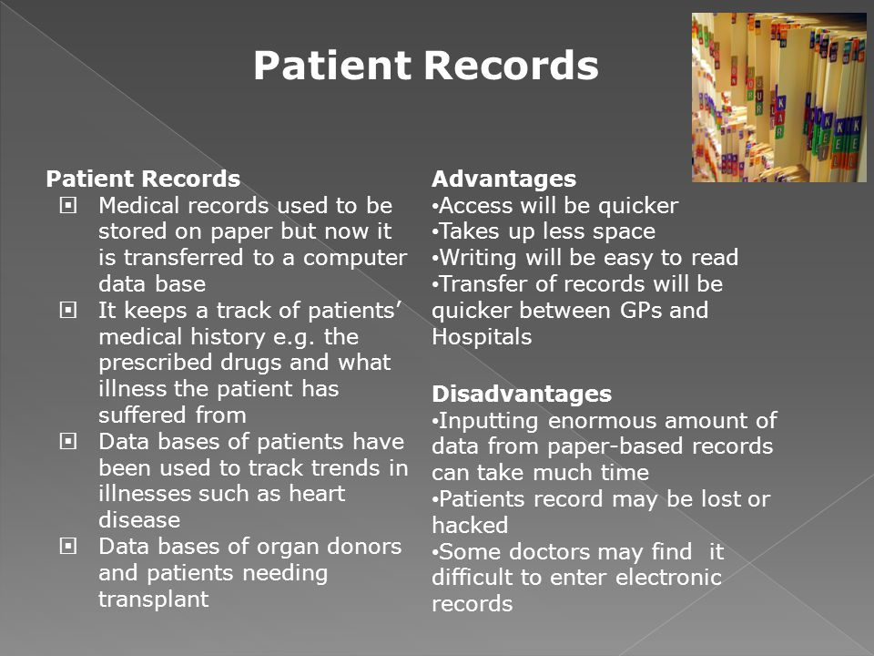 Patient Records Patient Records