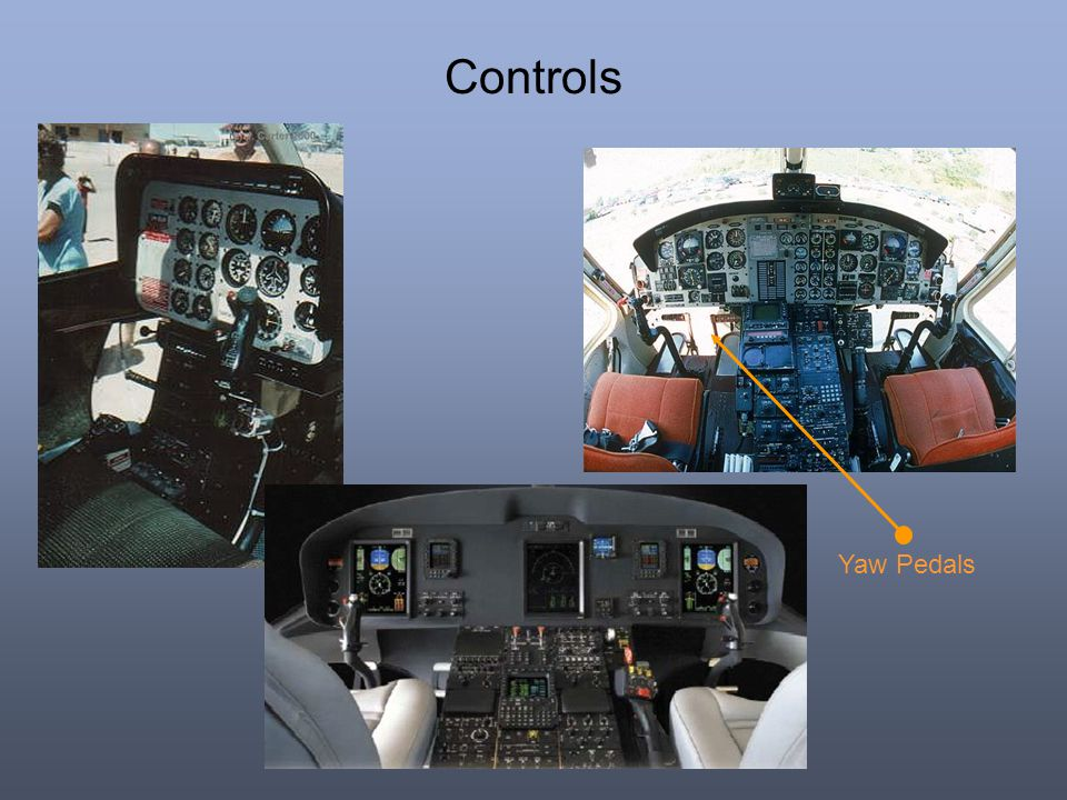 Controls Yaw Pedals