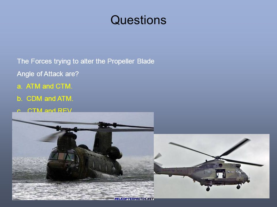 Questions The Forces trying to alter the Propeller Blade