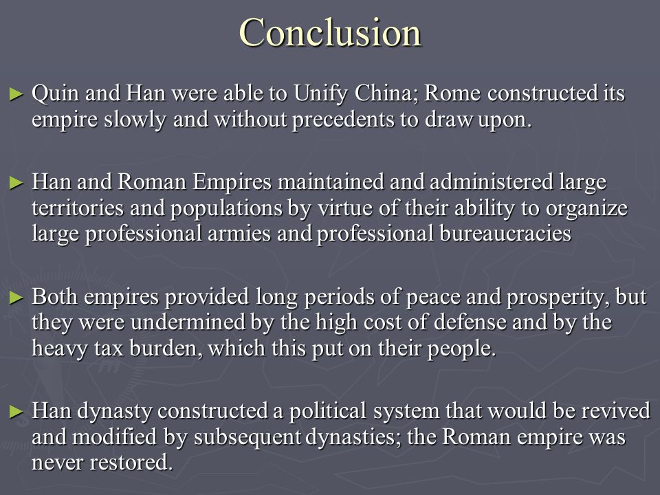 An Age Of Empires Rome And Han China 753 B C E 330 C