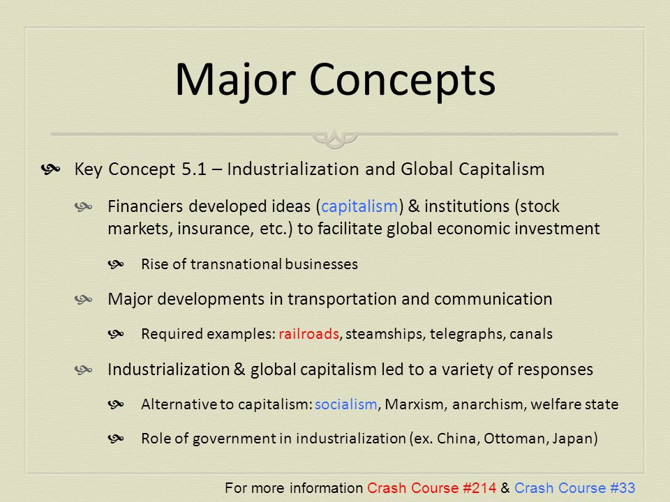 globalization concepts essay Read chapter 8 how is economic globalization affecting inequality  previous:  7 how is the movement of people, goods, and ideas transforming the world.