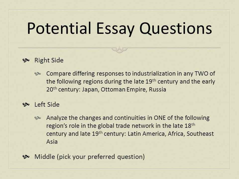 ap review session creating the global economy ppt video online  potential essay questions