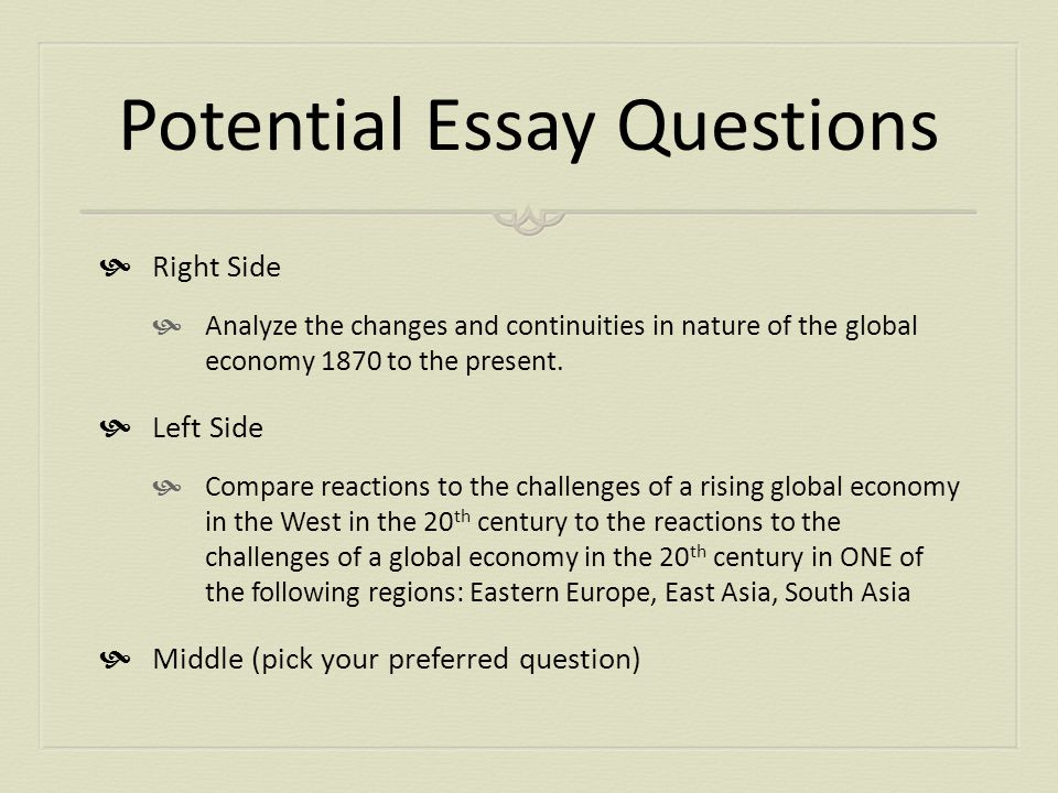 introduction of globalisation essay