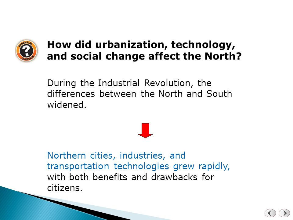 a comparison of the industrial revolution between north and south carolina Why did the industrial revolution affect the north more than the south  how did the second industrial revolution affect the south,west,north,midwest.