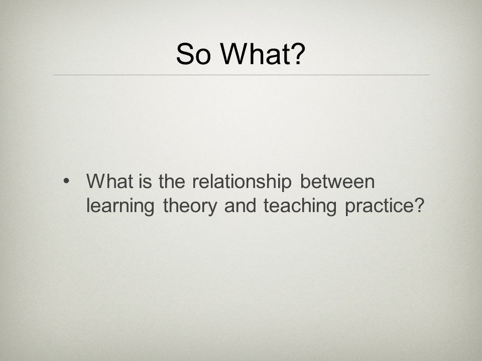 the relationship between teaching and learning 2018/07/15 learning vs training, what is the difference it's important to understand the difference between learning and training of course they are inextricably linked, but they are unique aspects of any educational process.