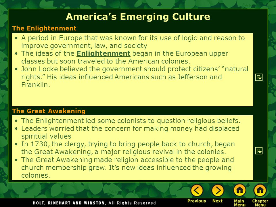 an examination of the important values in colonial america This webquest is designed to explore values and freedoms important in colonial times, how colonial values shaped america and why these values are still important today the webquest is presented as a culminating project reviewing topics in american history and its relevancy to participatory.