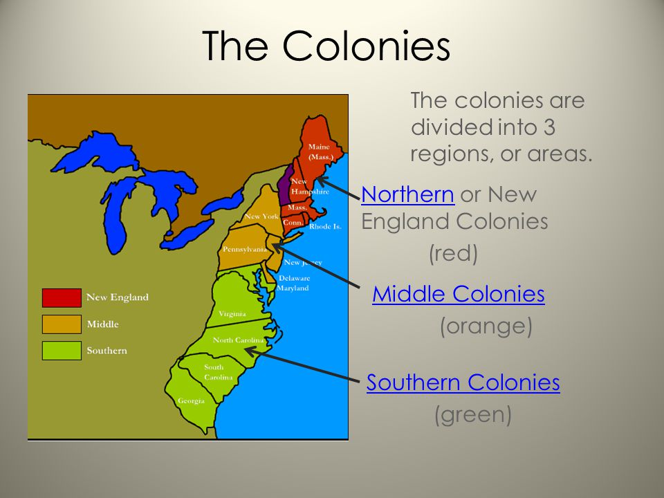 differences between the northern colonies the middle colonies and southern colonies Use the reading strategy of compare and contrast to  how did slavery in the  southern colonies differ from slavery in the northern colonies  middle  passage.