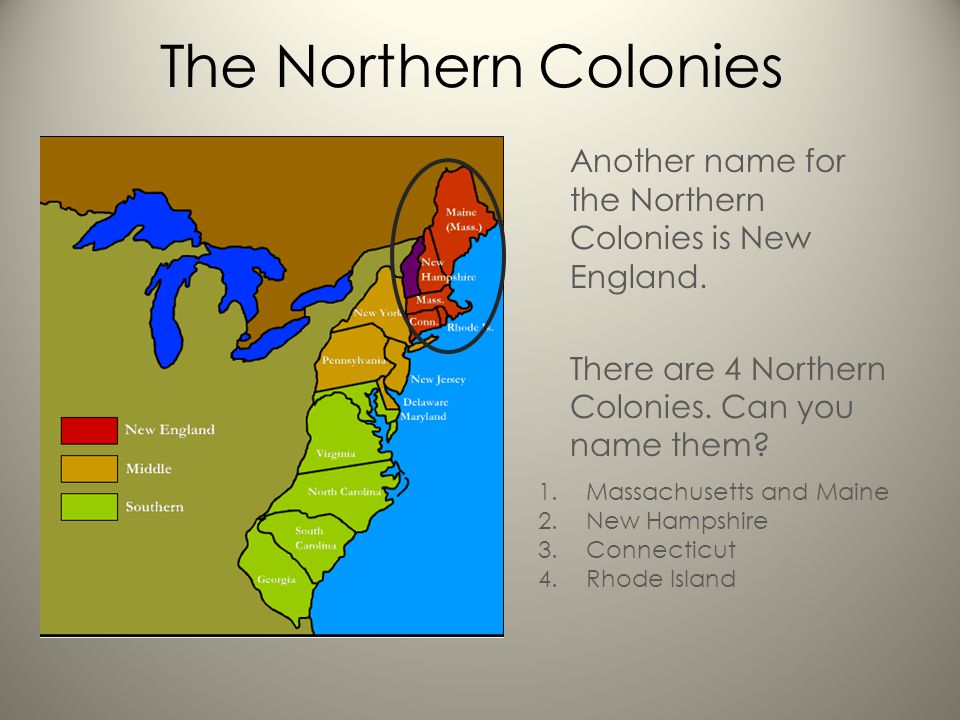 new england vs the colonies Difference between chesapeake and new england colonies essay example 622 words oct 8th, 2008 3 pages the colonies in the new world appeared completely different and the prospect of any unity between them seemed impossible.