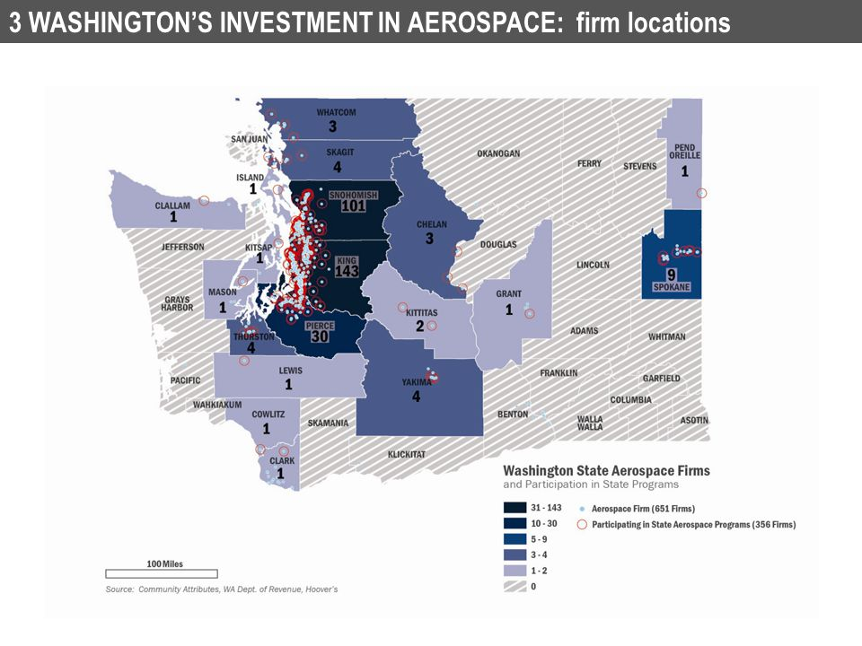 the impact of the washington state #waaero washington state aerospace impacts key findings industry totals for jobs and wages include direct aerospace activities and supporting industries.