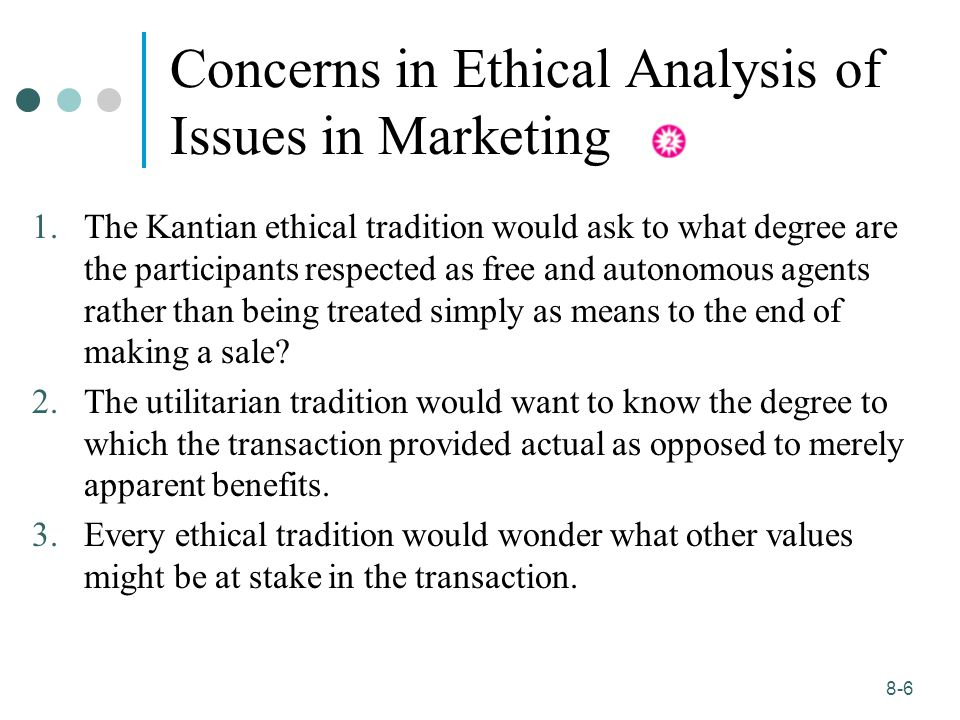 ethical marketing summary 11 ethics in marketing and consumer protection  learning objectives ♦ to know the ethical dilemmas in marketing ♦ to understand the.