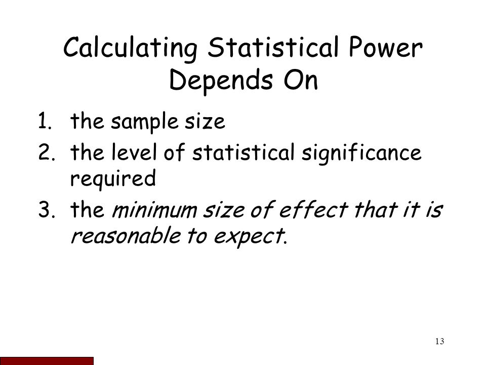 statistics sample size calculation