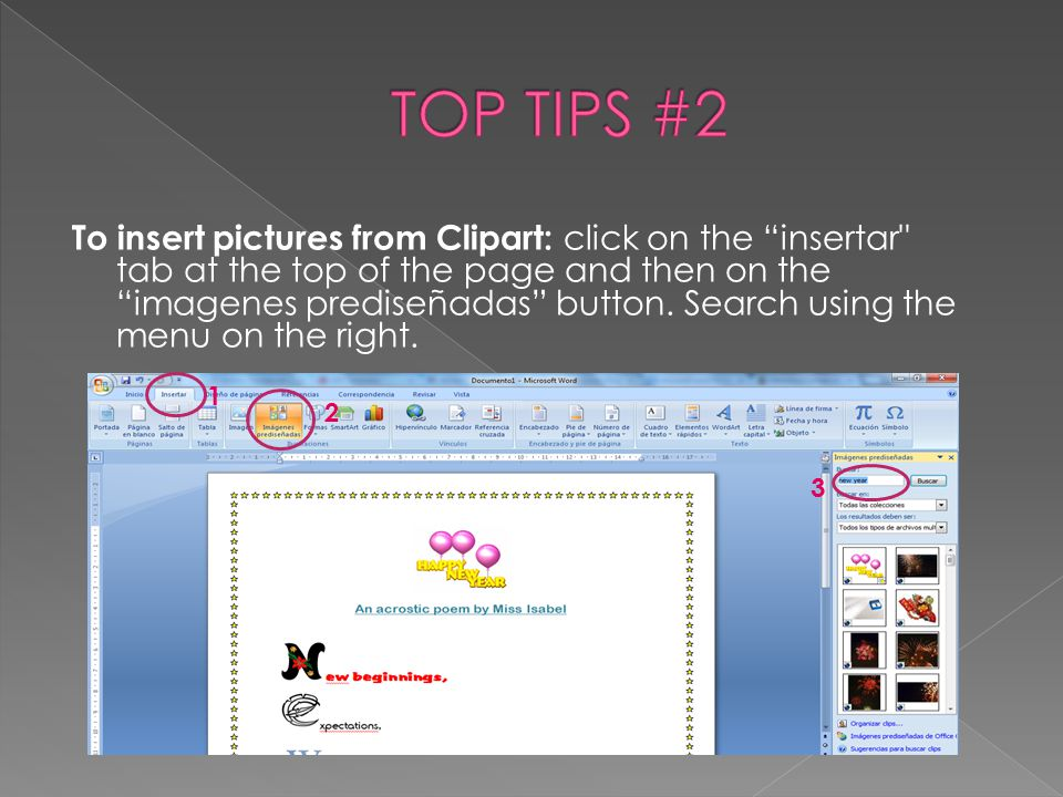 TOP TIPS #2