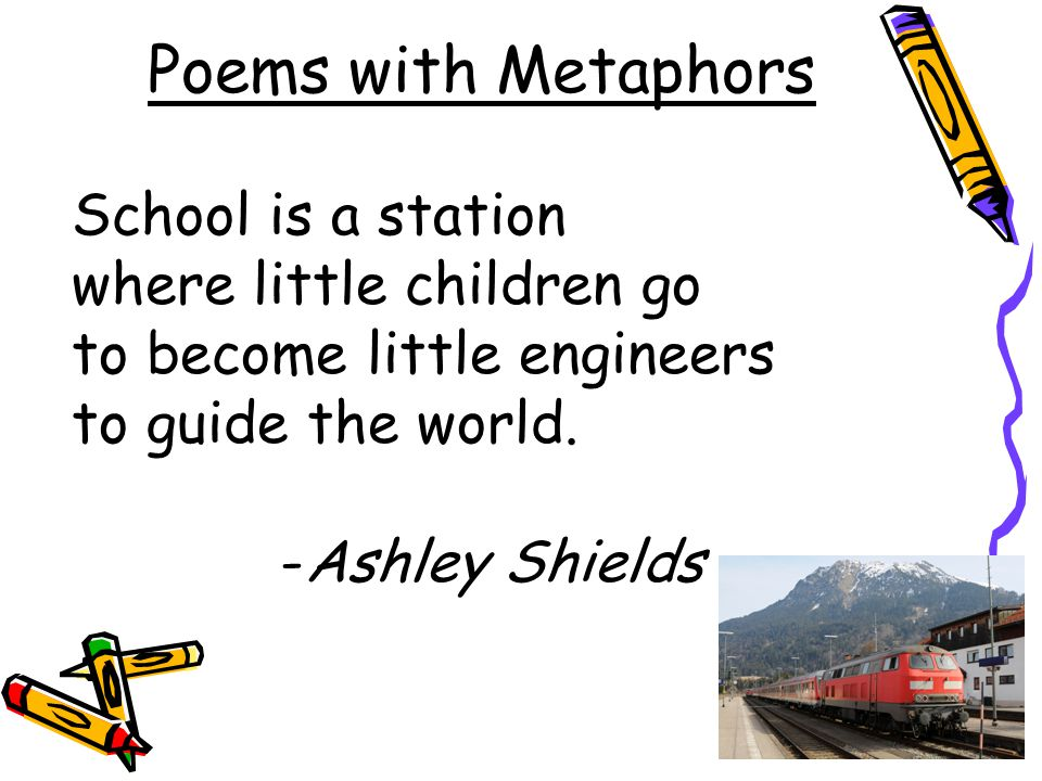 poem with metaphor rhyme simile