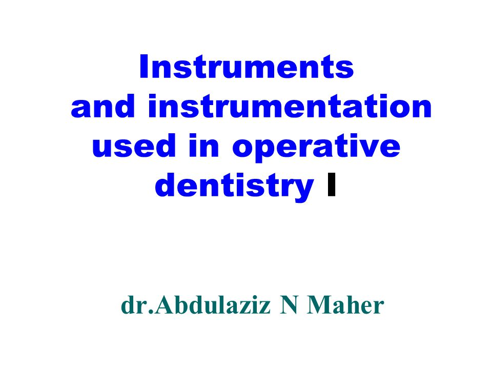 instruments used in research papers How to develop research instruments the young researchers will need to design research instruments (the tools they will use to this could be on paper or.