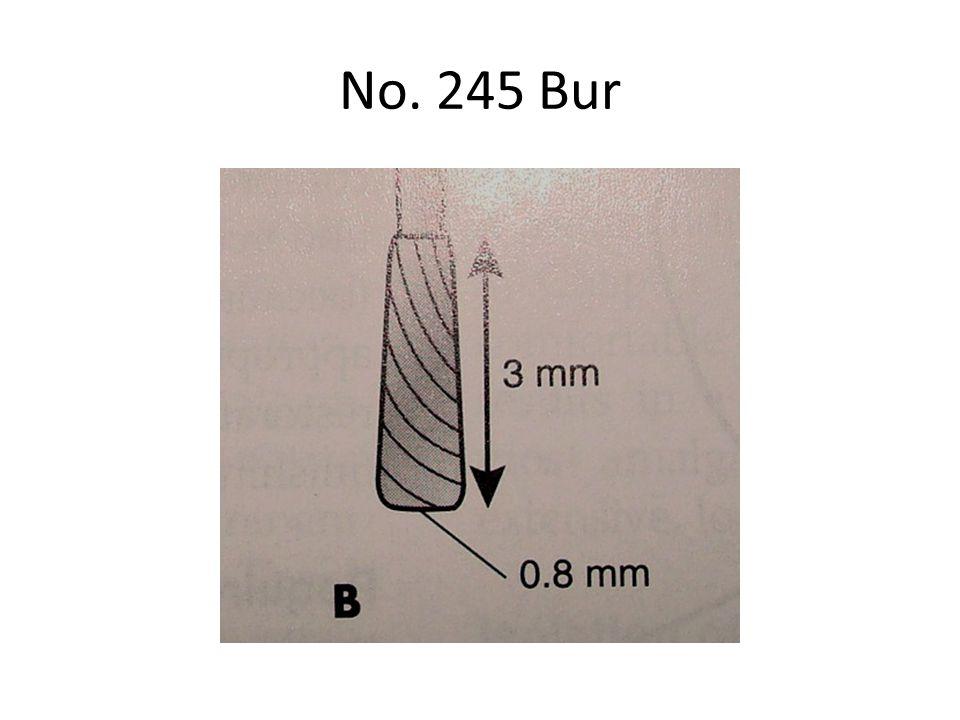 No. 245 Bur