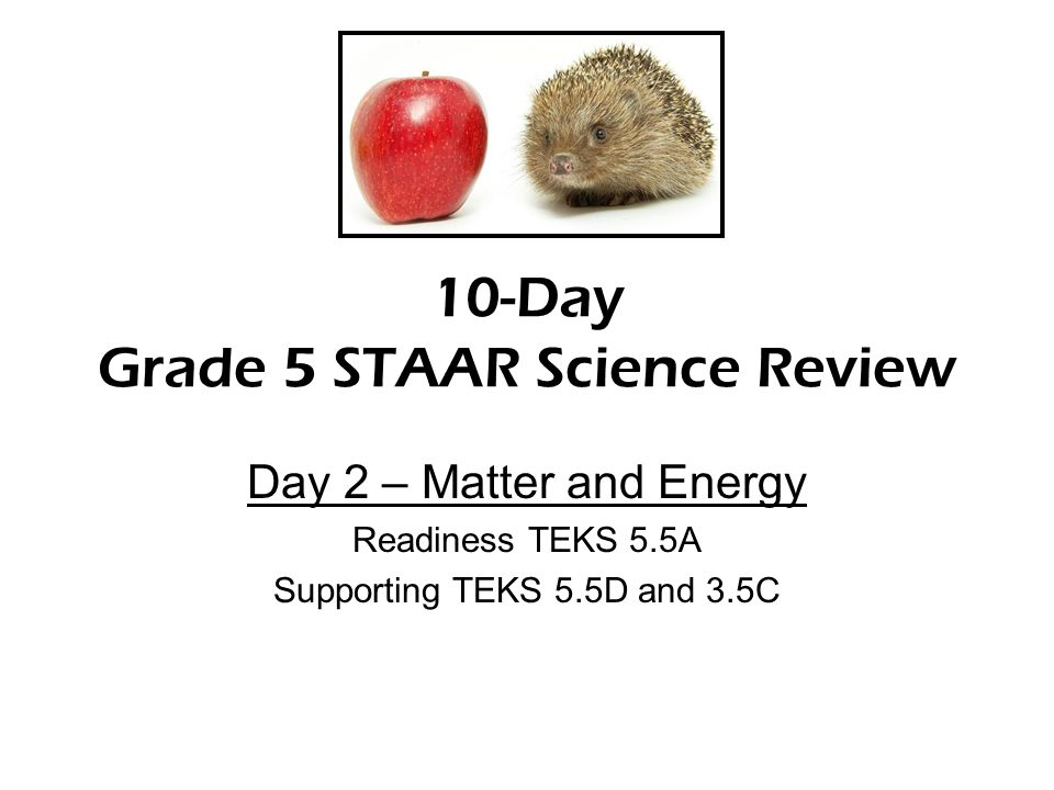 day 3 5th grade staar review