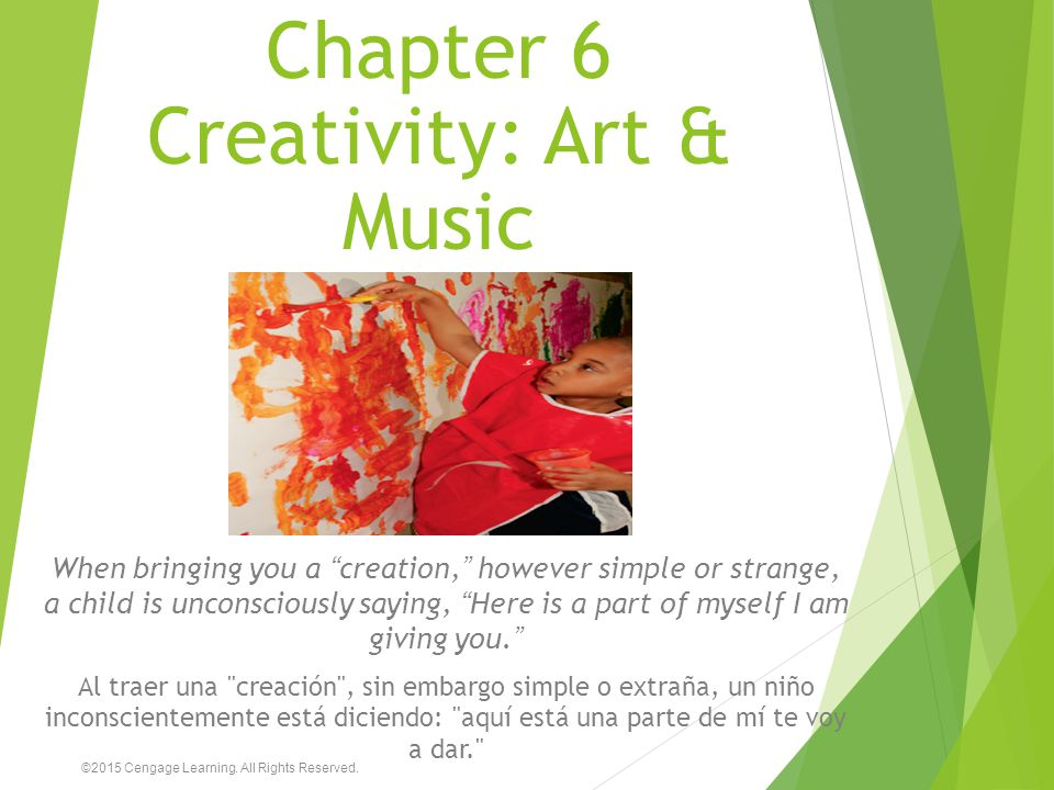 Chapter 6 Creativity: Art & Music