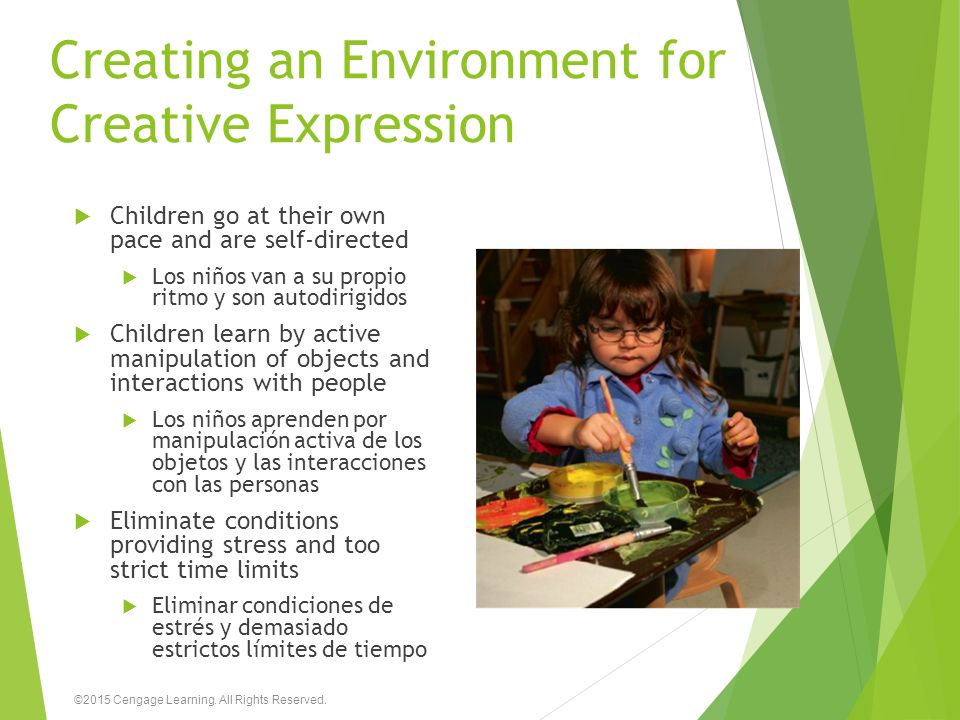 Creating an Environment for Creative Expression