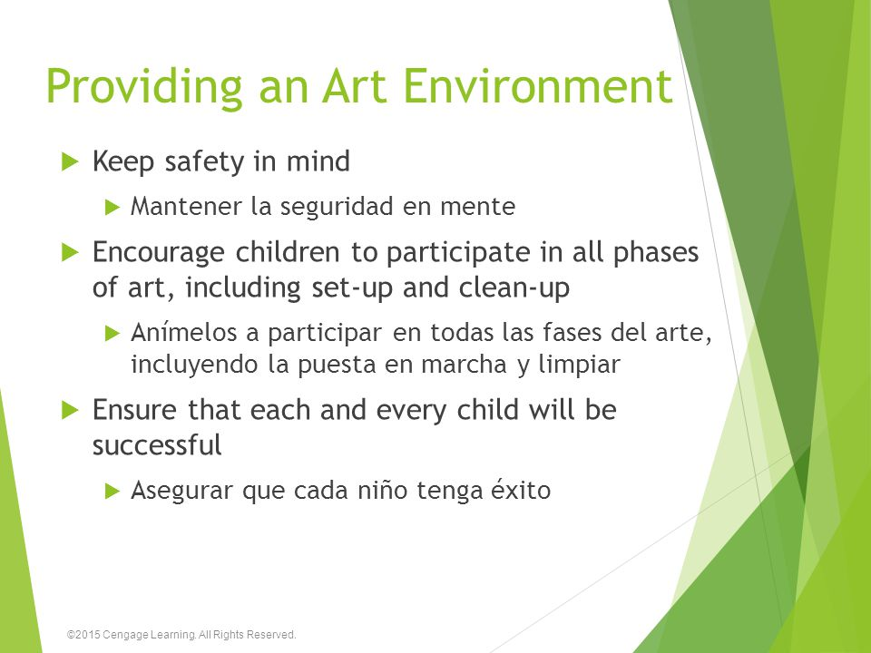 Providing an Art Environment