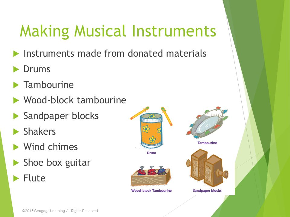 Making Musical Instruments