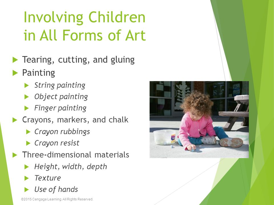 Involving Children in All Forms of Art