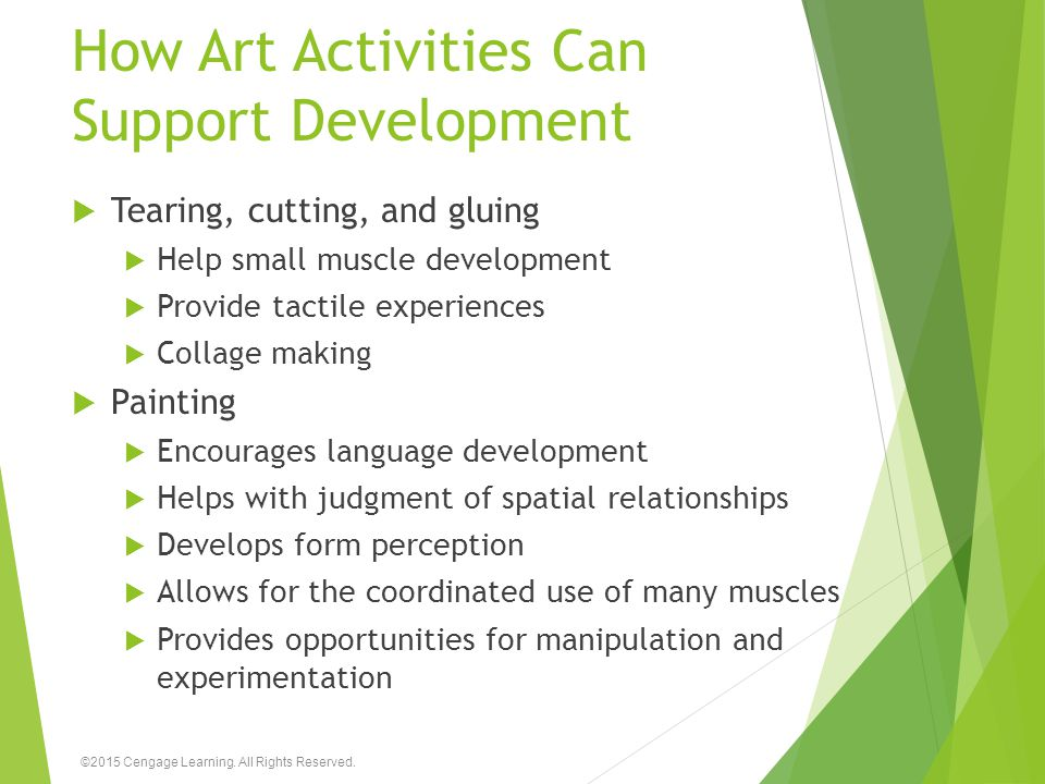 How Art Activities Can Support Development