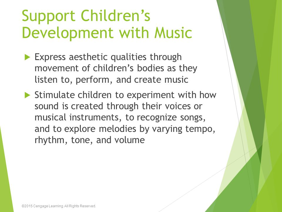 Support Children's Development with Music