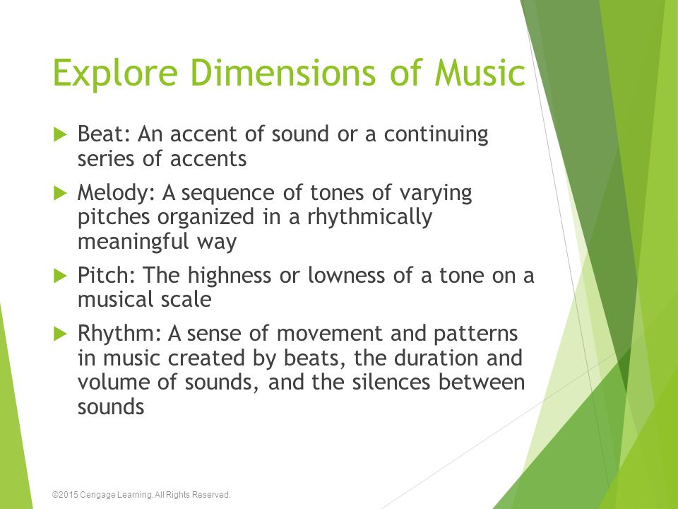 Explore Dimensions of Music