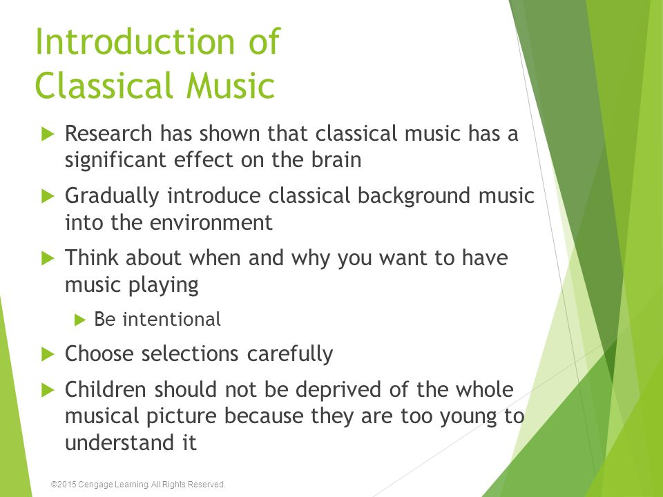 Introduction of Classical Music