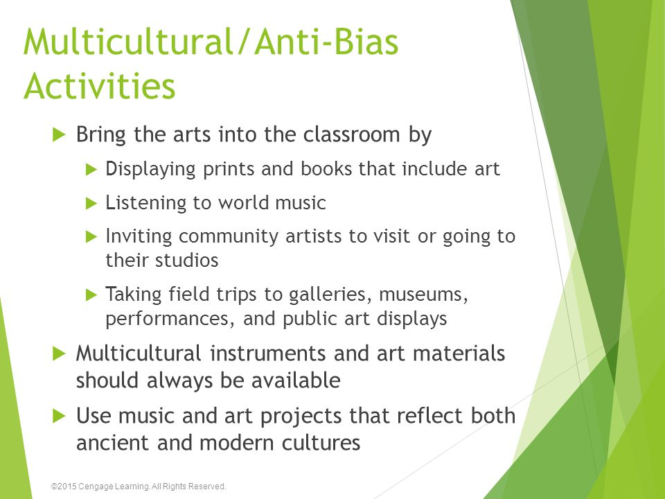 Multicultural/Anti-Bias Activities