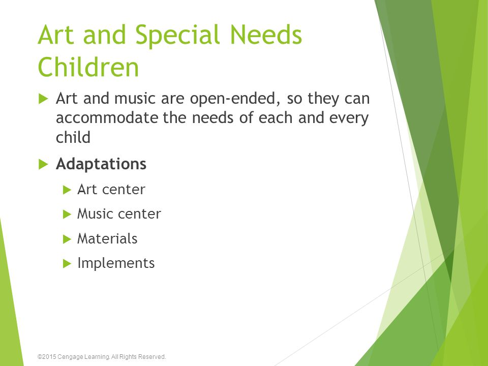 Art and Special Needs Children