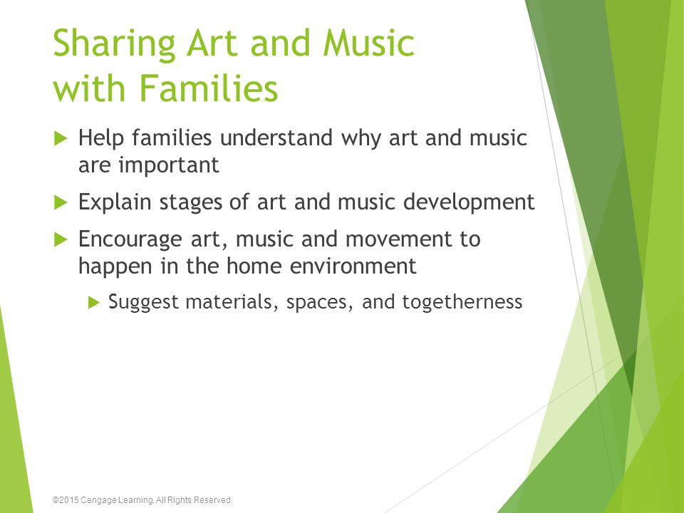 Sharing Art and Music with Families