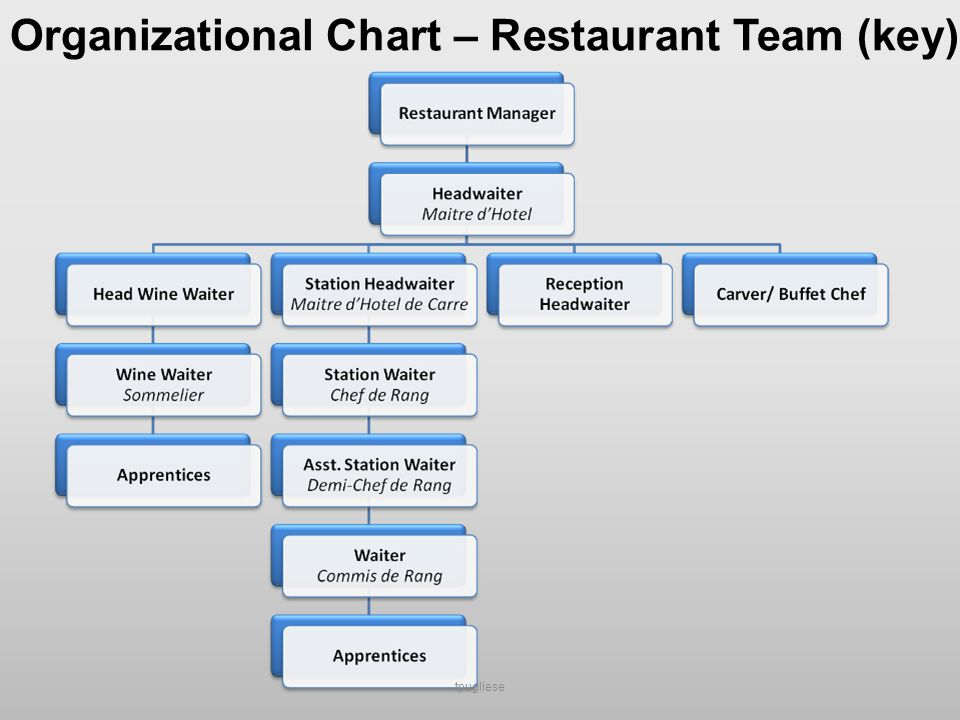 Gordon Food Service Organizational Chart