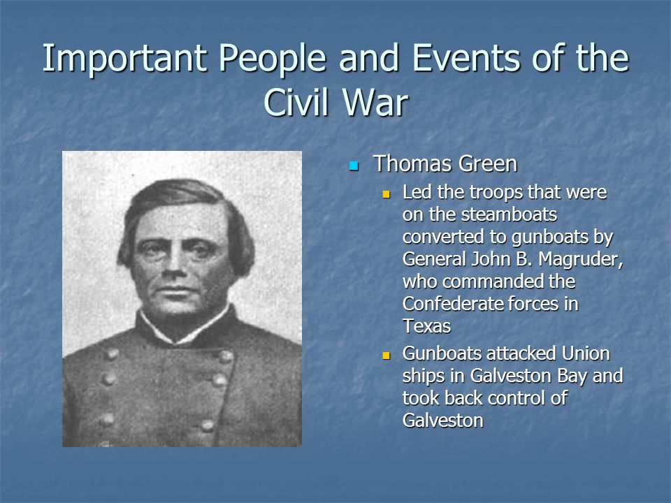 Texas and the Civil War and Reconstruction - ppt download