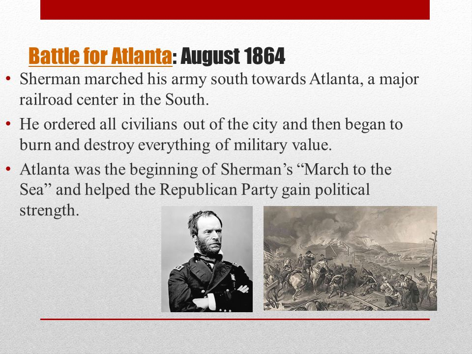 Battle for Atlanta: August 1864