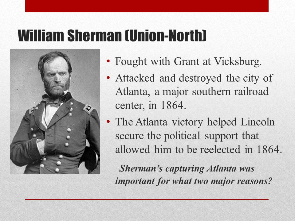 William Sherman (Union-North)