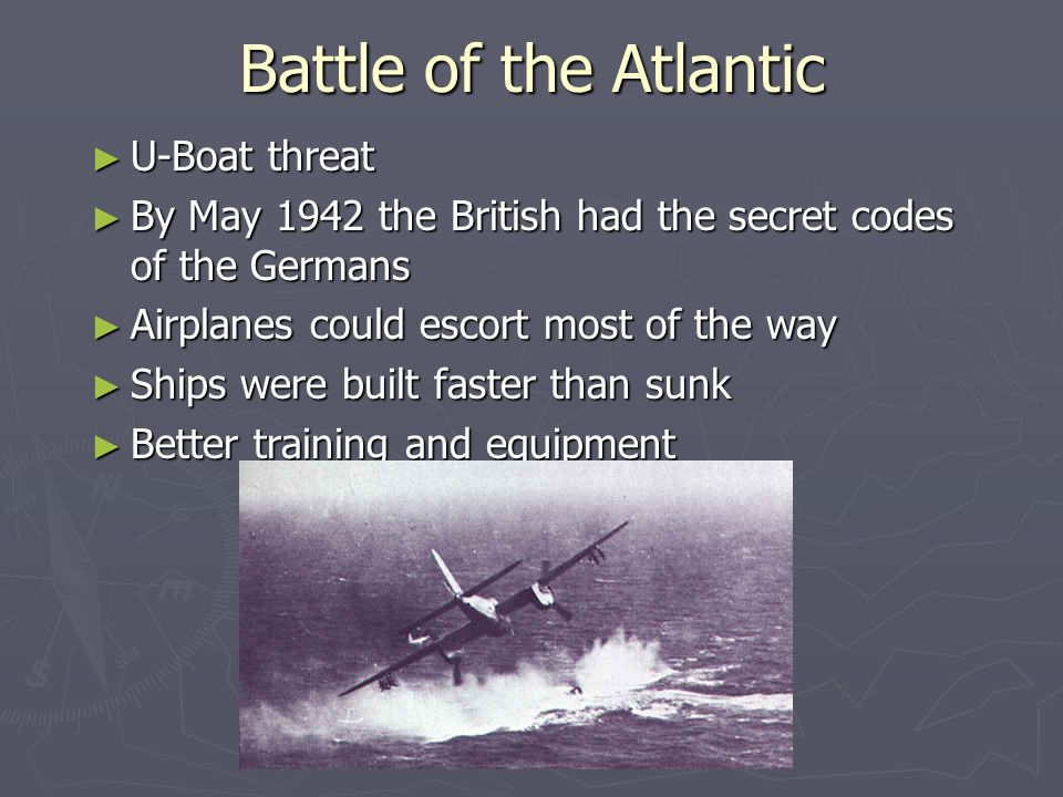 the u boat threat essay The convoy system - origins the convoy though by late 1917 the allies were beginning to get the measure of the u-boat threat, the development.