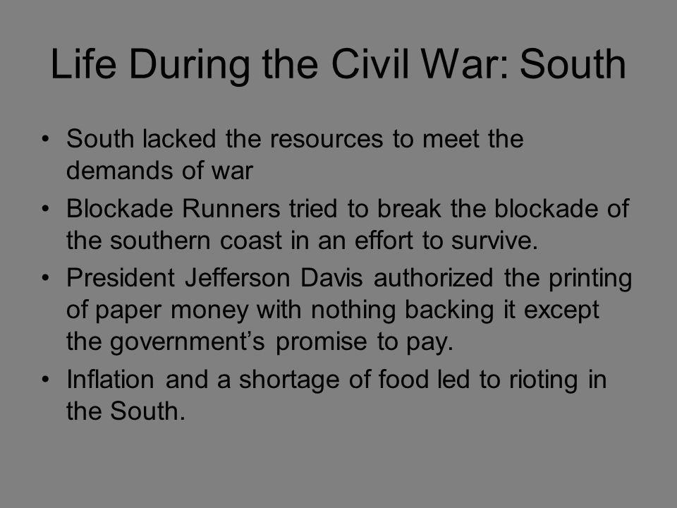 family life during civil war essay Kids learn about what life was like as a soldier during the civil war what did they eat, how much were they paid, what was a typical day like.