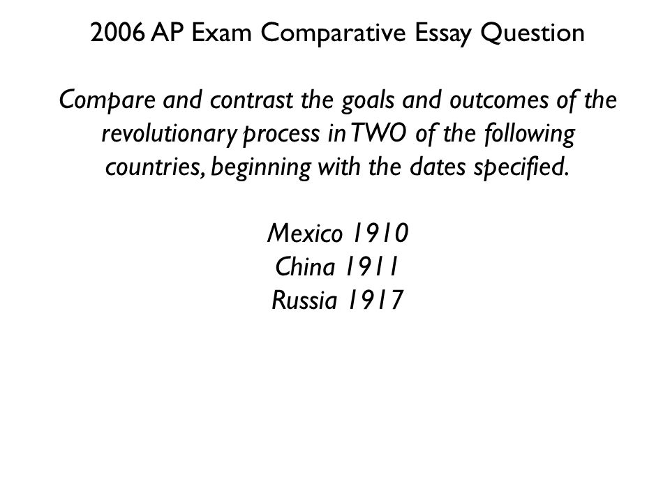 ap world comparative essay questions Ap world history comparative essay thesis examples we will write an essay that will make you proud ap world history comparative essay thesis.