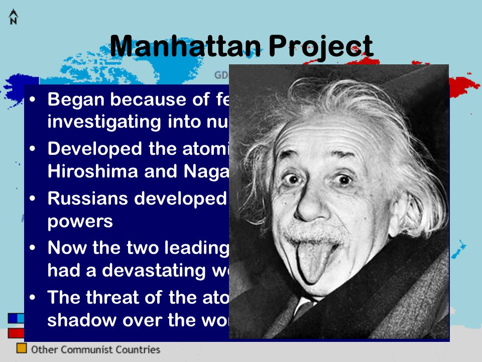 nuclear research started in the creation of the manhattan project Essay impact of the manhattan project the manhattan project also led to the creation of two by a group of nuclear engineers the name of this research.