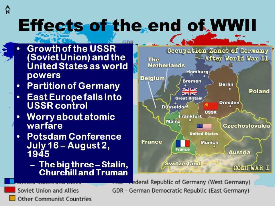 Cold War The Period From In Which The United States And