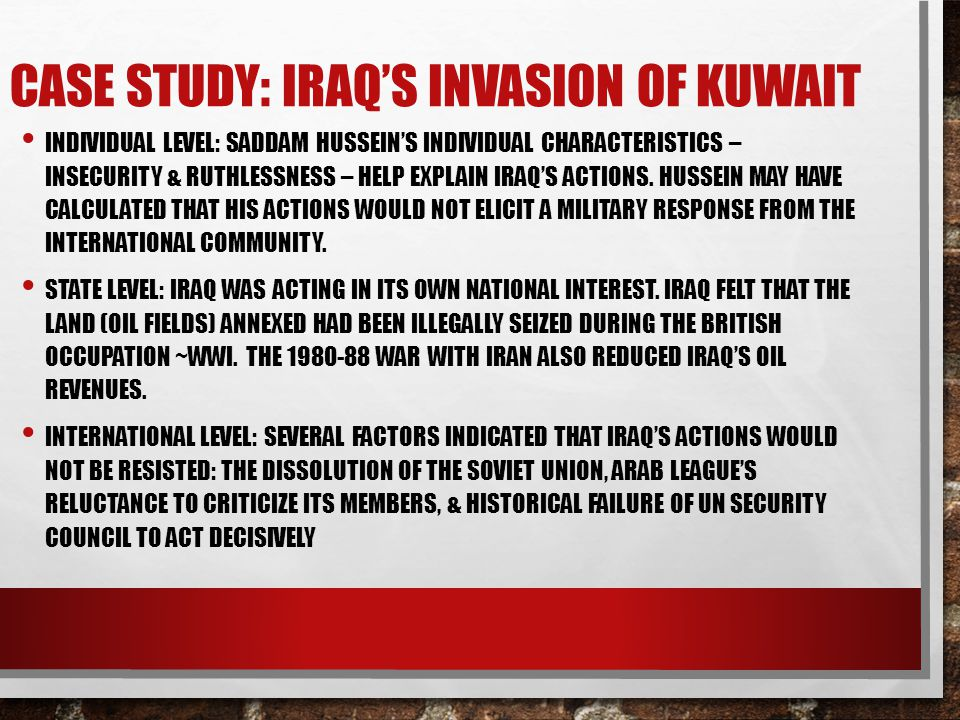 an analysis of an essay on the invasion of iraq Free expository essay example on about iraq  essay about iraq  – profound analysis – original & auhentic writing.