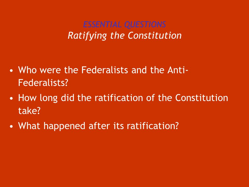 Ratifying The Constitution Worksheet - Best Worksheet