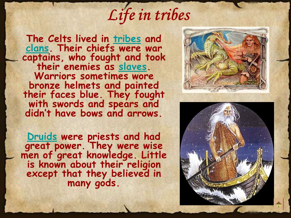 Life in tribes