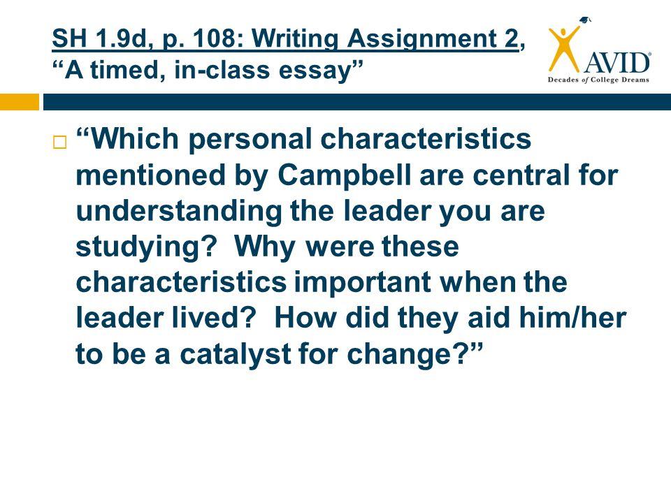 written assignment 9